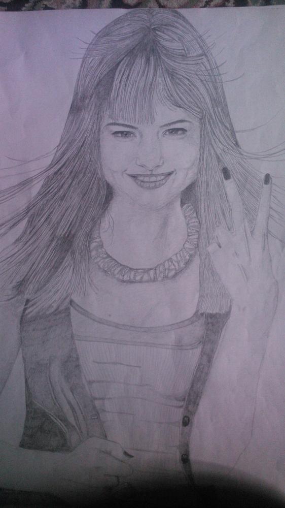 Selena Gomez by Mnsgha